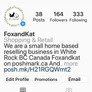 Check out my Instagram -foxandkatshop-